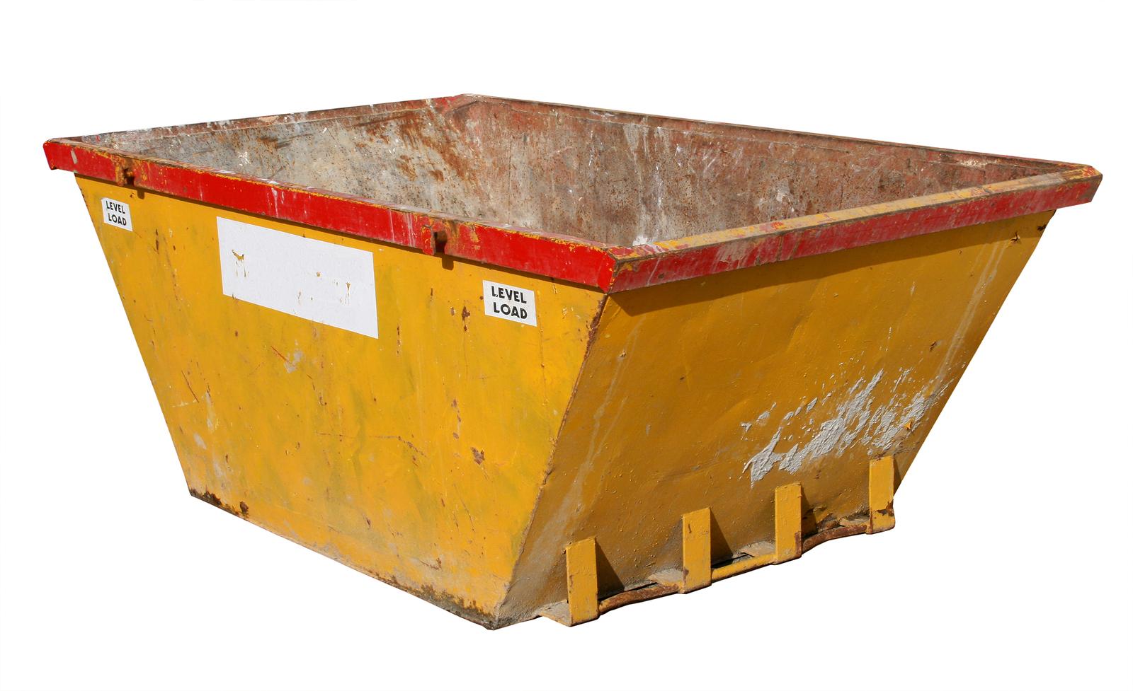 empty skip bin